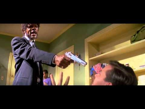 Best scene from Pulp Fiction - Samuel l Jackson