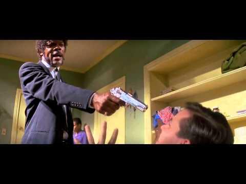 Best scene from Pulp Fiction - Samuel l Jackson