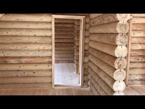 Проект с сайта ДО-26  бревно Ф 220 мм  дом для ПМЖ в комплектации под ключ