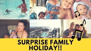 SURPRISE HOLIDAY WITH A 10 WEEK OLD BABY! | HARD ROCK HOTEL