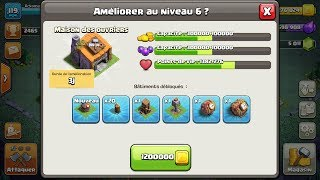 Passage MDO 6 APRES MDO 5 COMPLETEMENT MAX - Clash of clans