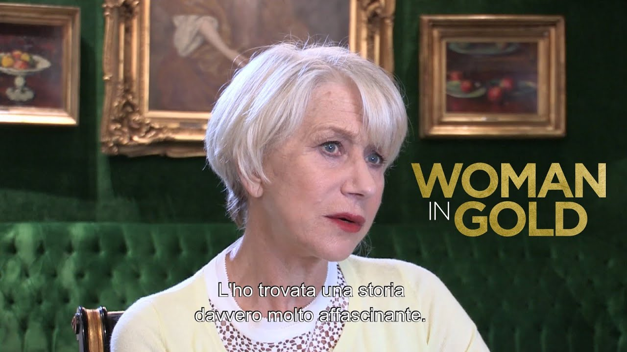 Woman in gold helen mirren ryan reynolds intervista a helen