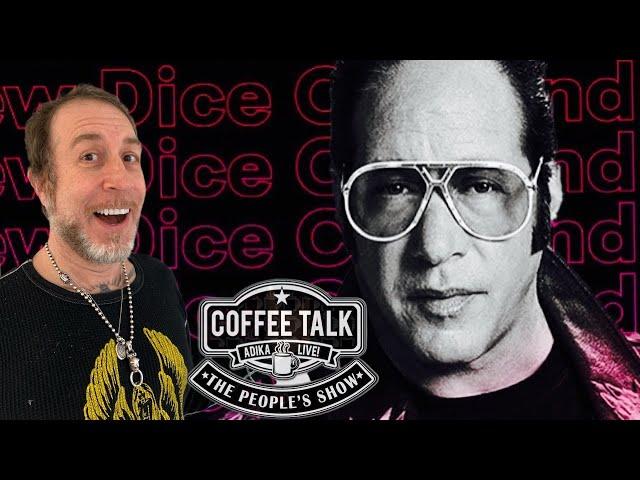Andrew Dice Clay Talks Movies, Elvis & Coffee!