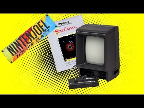 Testing Out Star Castle for the Vectrex! Nintenjoel