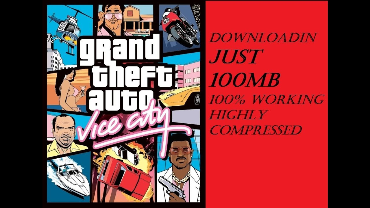 download gta vice city for windows 7 highly compressed
