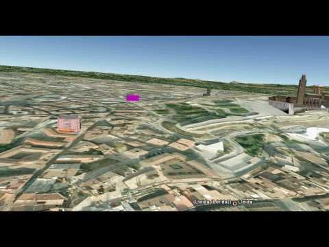 Lleida des de Google Earth - La Paeria - Ajuntament de Lleida