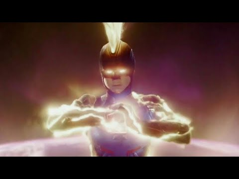 Captain Marvel Vs Ronan's Army - Captain Marvel (2019) 4K Movie Clip