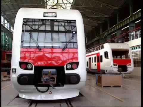 CAF (Construcciones y Auxiliar de Ferrocarriles) Presentatiton Video