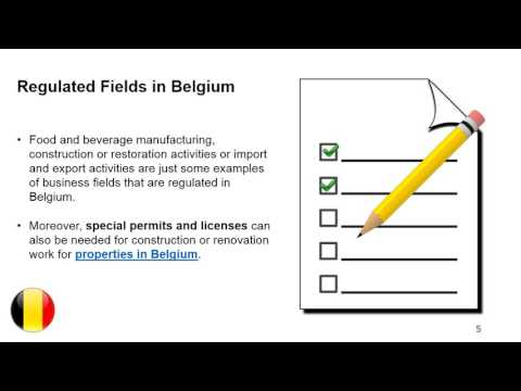 Special Permits and Licenses in Belgium
