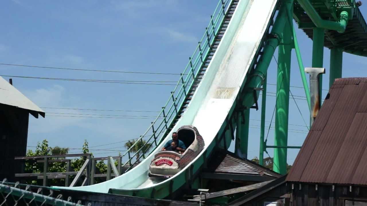 Santa Cruz Beach Boardwalk Logfume Ride 2