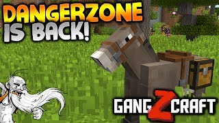 "GangZcraft Modded Minecraft Ep04 - ""DANGERZONE IS BACK!!!"" - Minecraft Modpack Let"