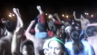Ohio State - Mirror Lake Jump 2010 - Crowd Tour