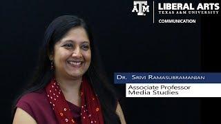TAMU COMM Faculty Profile: Dr. Srivi Ramasubramanian