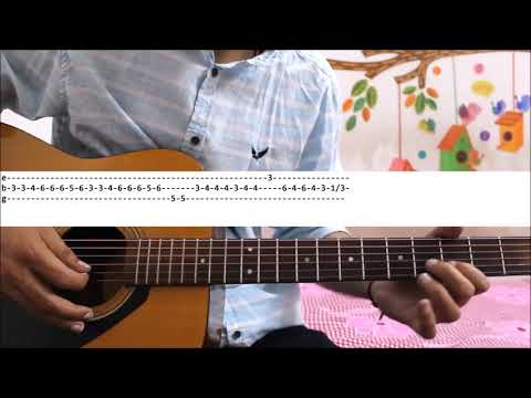 Yaara Teri Yaari Ko - Rahul Jain - Leads + Chords - Hindi Easy Beginners Guitar Lesson