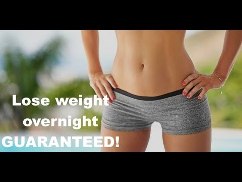 what can i do to lose weight overnight