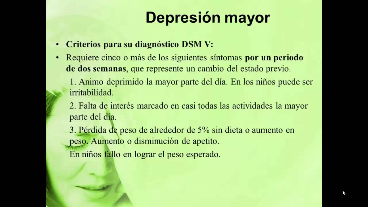 Depresión Mayor vs Trastorno Depresivo persistente - YouTube