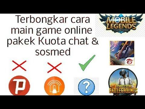 Cara Main Game Online Pakai Kuota Chat Alloperator