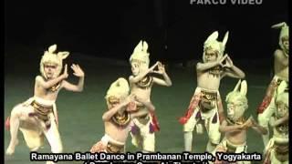 Ramayana Ballet Dance in Prambanan Temple, Yogyakarta