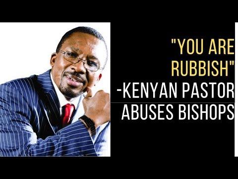 The Kenyan Sauce EXPOSED Top KENYAN Pastor Calls Other Bishopd RUBBISH/Takataka