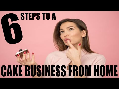 How to start a cake business from home I 6 Steps Tutorial thumbnail
