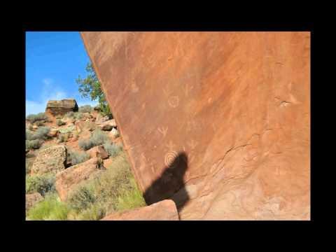 Sun Dagger - Summer Solstice in Zion Canyon 2013