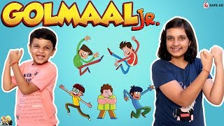 GOLMAAL JR. on Sonic Episode Review #Funny #Cartoon | Aayu and Pihu Show