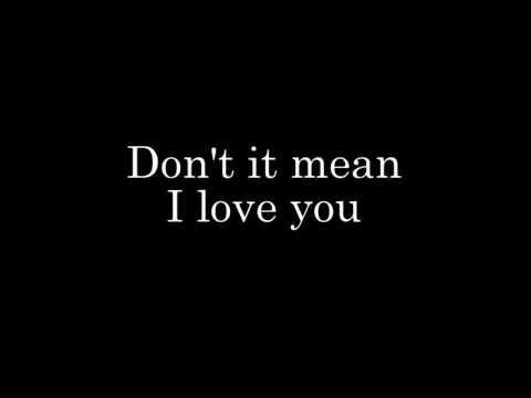 Rihanna - Te Amo Lyrics