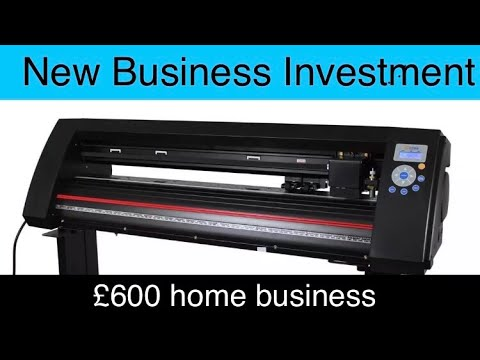 £600 vinyl plotter to start a vinyl decal business from home!!