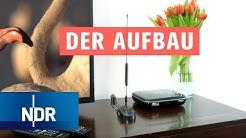 DVB-T2 HD: Geräte anschließen - So geht's | NDR