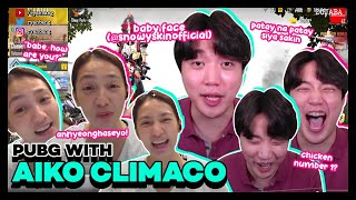 Playing PUBG Mobile with Aiko Climaco