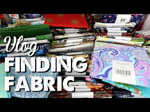 Vlog: Finding Fabric | A Thousand Words