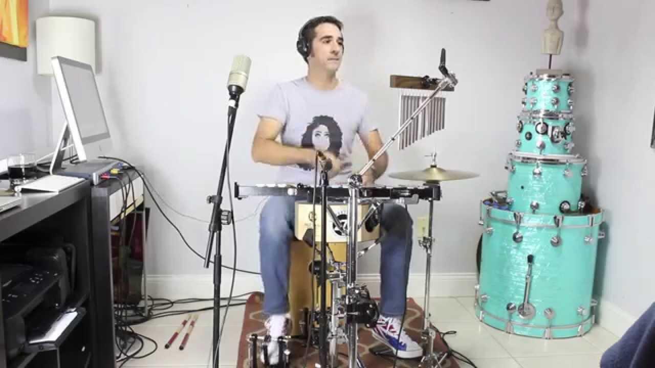 Lennon amp maisy boom clap drum cover youtube