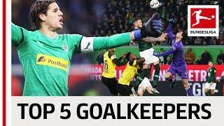 Top 5 Goalkeepers 2018/19 So Far - Bürki, Sommer & Co.