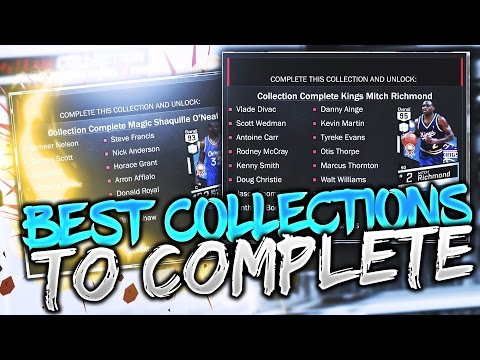 BEST COLLECTIONS TO COMPLETE IN NBA 2K17 MY TEAM! NBA 2K17 MYTEAM COLLECTION REWARDS!