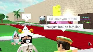 """""""Do I Owe You ROBUX?"""" - ROBLOX Social experiment #1"""