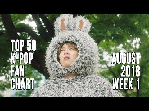 Top 50 K-Pop Songs Chart - August 2018 Week 1 Fan Chart