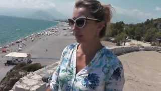 Турция. Анталья, городской пляж.