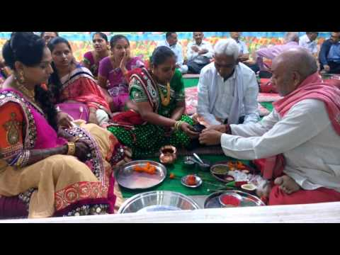 Trupti Wedding mandap muhurat January 2016 5