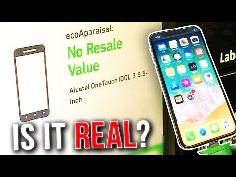 Thumbnail: IS IT REAL?- Selling My iPhone X To a Machine at Walmart (REAL OR FAKE?)