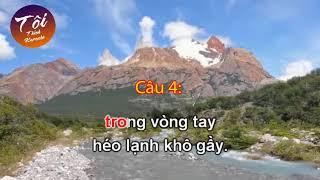 [Karaoke] Mua thu tren Bach Ma Son (Co 4-6) Don ca Nam