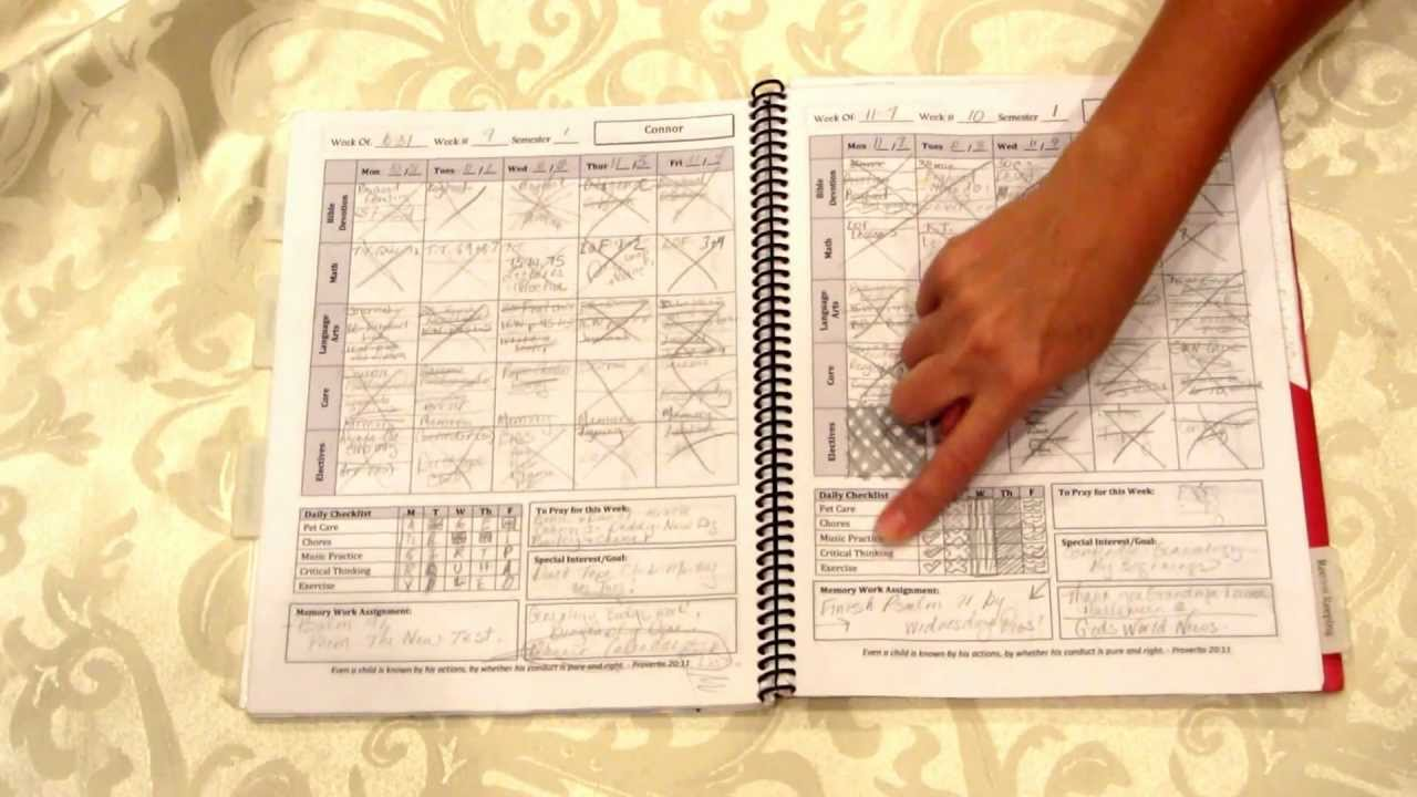 a plan in place customized planners for homeschool families youtube