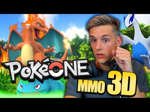 BRAND NEW 3D ONLINE POKÈMON MMO! - Pokeone MMO 3D GAMEPLAY!