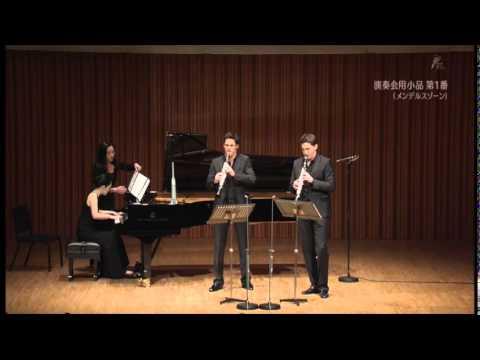 The Clarinotts in Tokyo-Daniel & Andreas Ottensamer-Mendelssohn: Konzertstueck No. 1