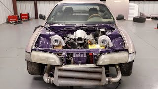 Making Progress On The Twin Turbo J Swapped S14 (Looks Sick)