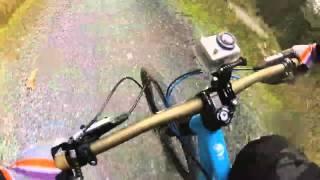 Beicio Mynydd - Ems ar Y Gemau Gwyllt - Mountain Biking GoPro