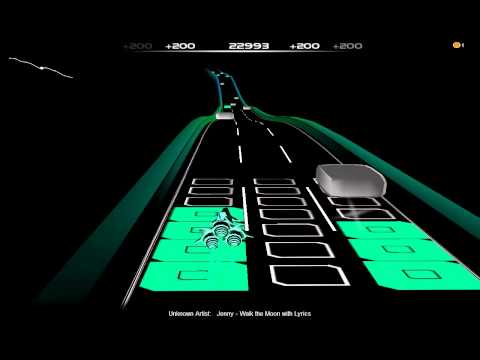 Audiosurf: Walk The Moon- Jenny