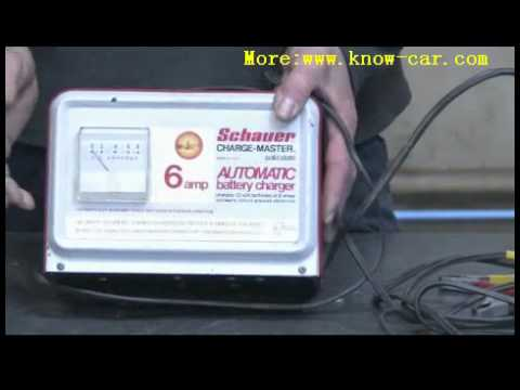 Taking A Car Battery Out To Charge