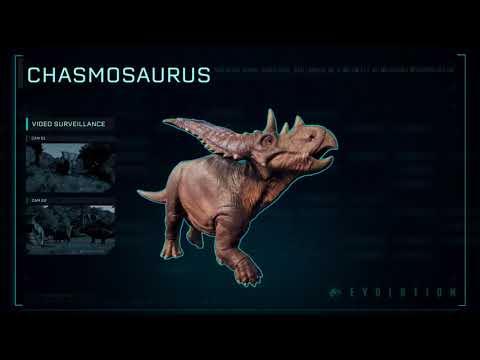 Jurassic World Evolution - Species Profile: Chasmosaurus