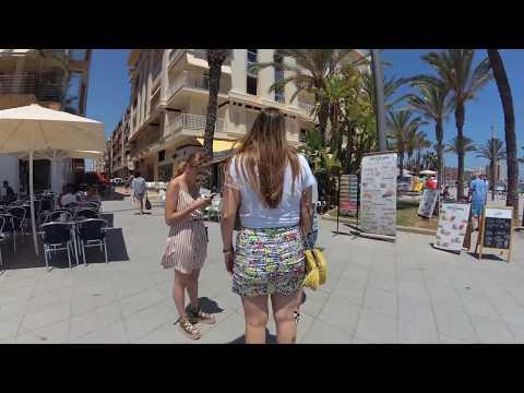 Torrevieja - Seaside Esplanade Juan Aparicio - Beach - Paseo Maritimo