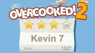 Overcooked 2. Kevin 7. 4 stars. 2 player Co-op